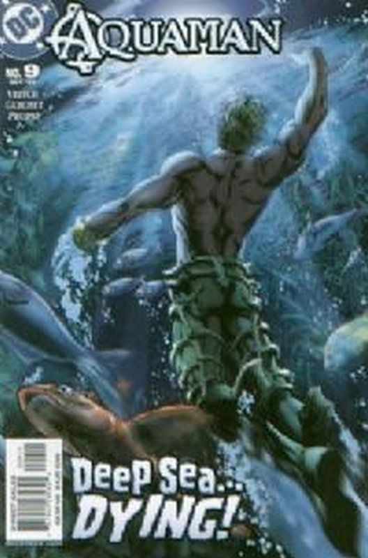 Cover of Aquaman (Vol 4) #9. One of 250,000 Vintage American Comics on sale from Krypton!