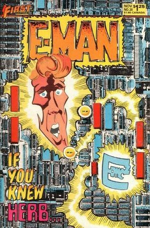 Cover of E-Man (Vol 2) #20. One of 250,000 Vintage American Comics on sale from Krypton!