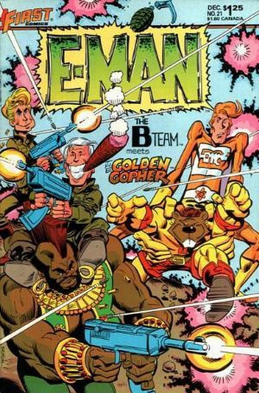 Cover of E-Man (Vol 2) #21. One of 250,000 Vintage American Comics on sale from Krypton!