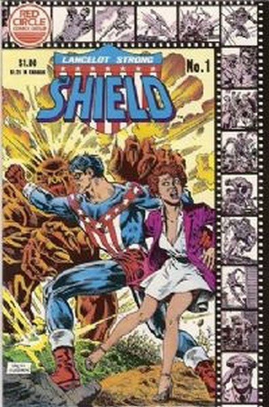 Cover of Shield: Lancelot Strong (Vol 1)The #1. One of 250,000 Vintage American Comics on sale from Krypton!