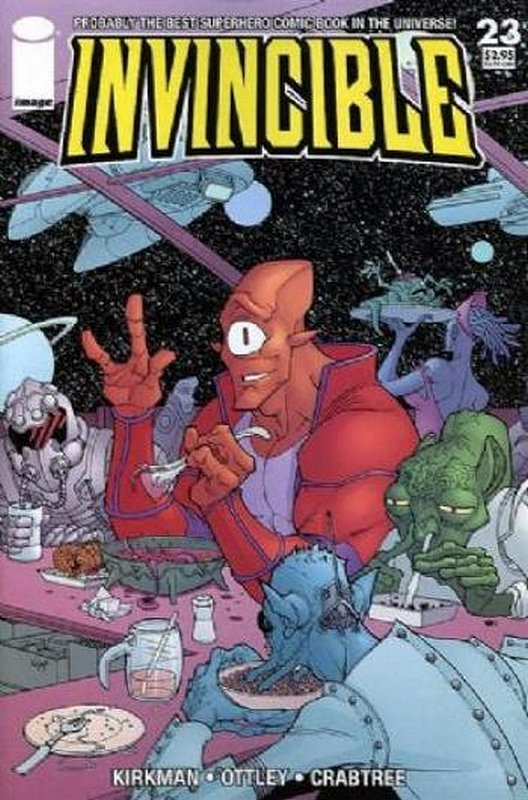 Cover of Invincible (Vol 1) #23. One of 250,000 Vintage American Comics on sale from Krypton!