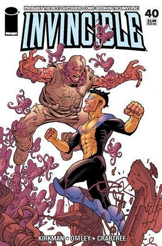 Cover of Invincible (Vol 1) #40. One of 250,000 Vintage American Comics on sale from Krypton!