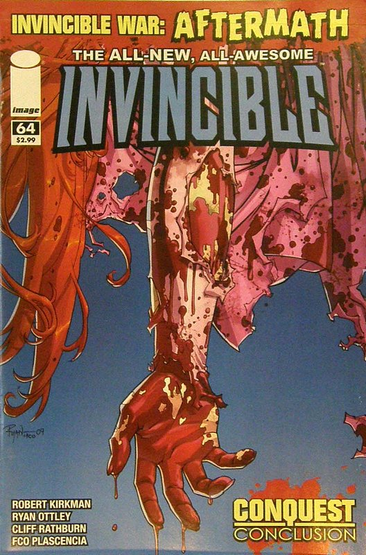 Cover of Invincible (Vol 1) #64. One of 250,000 Vintage American Comics on sale from Krypton!