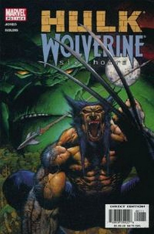 Cover of Hulk & Wolverine: Six Hours (2003 Ltd) #1. One of 250,000 Vintage American Comics on sale from Krypton!