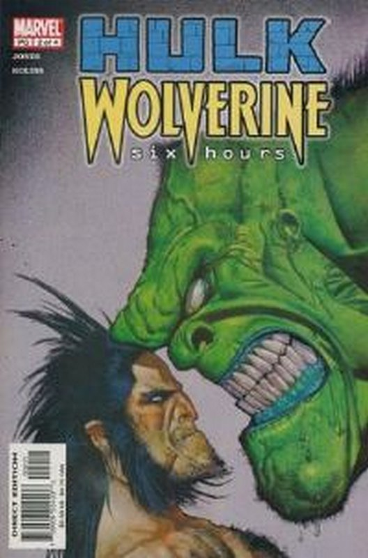 Cover of Hulk & Wolverine: Six Hours (2003 Ltd) #2. One of 250,000 Vintage American Comics on sale from Krypton!