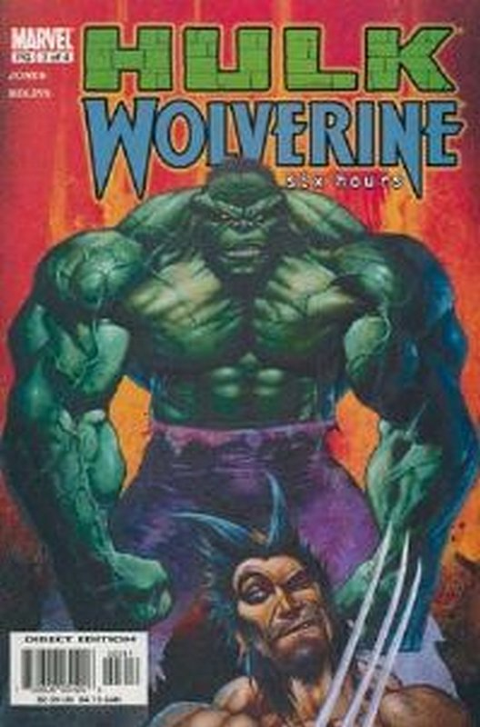Cover of Hulk & Wolverine: Six Hours (2003 Ltd) #3. One of 250,000 Vintage American Comics on sale from Krypton!