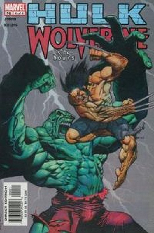 Cover of Hulk & Wolverine: Six Hours (2003 Ltd) #4. One of 250,000 Vintage American Comics on sale from Krypton!