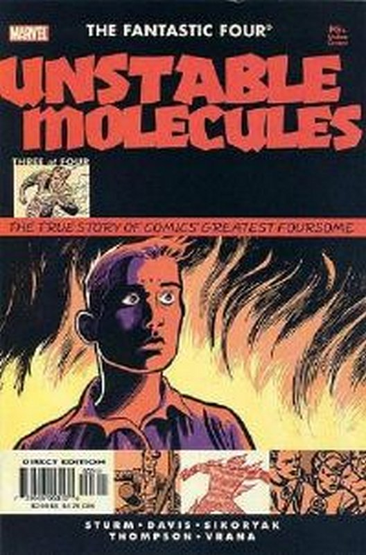 Cover of Fantastic Four: Unstable Molecules (2003 Ltd) #3. One of 250,000 Vintage American Comics on sale from Krypton!