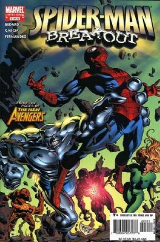 Cover of Spider-Man: Breakout (2005 Ltd) #3. One of 250,000 Vintage American Comics on sale from Krypton!