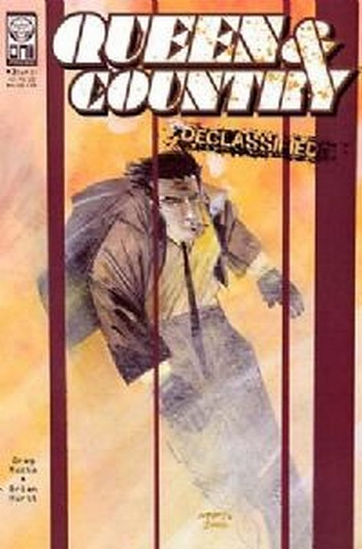 Cover of Queen & Country: Declassified (2002 Ltd) #3. One of 250,000 Vintage American Comics on sale from Krypton!