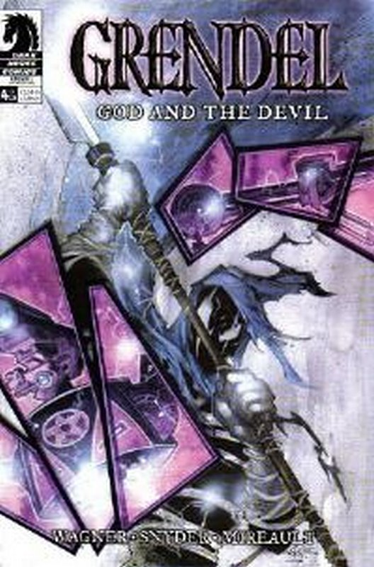 Cover of Grendel God & The Devil (2003 Ltd) #4. One of 250,000 Vintage American Comics on sale from Krypton!