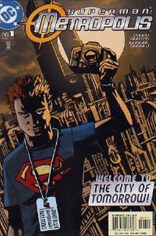Cover of Superman: Metropolis (2003 Ltd) #1. One of 250,000 Vintage American Comics on sale from Krypton!