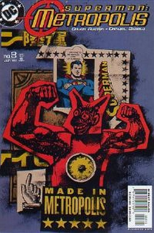 Cover of Superman: Metropolis (2003 Ltd) #3. One of 250,000 Vintage American Comics on sale from Krypton!