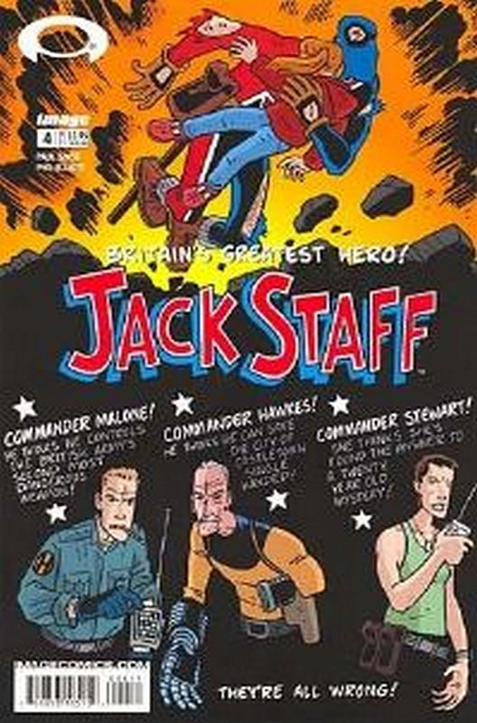 Cover of Jack Staff (Vol 1) #4. One of 250,000 Vintage American Comics on sale from Krypton!