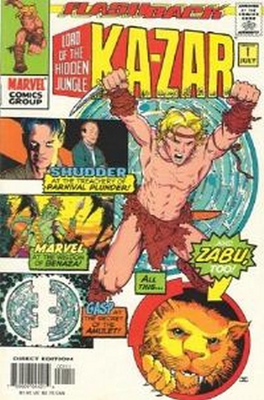 Cover of Ka-Zar (Vol 4) #-1. One of 250,000 Vintage American Comics on sale from Krypton!