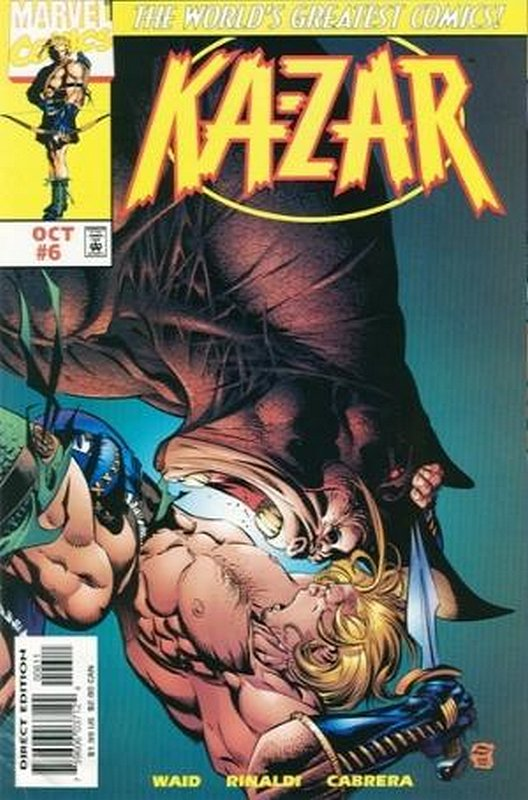 Cover of Ka-Zar (Vol 4) #6. One of 250,000 Vintage American Comics on sale from Krypton!