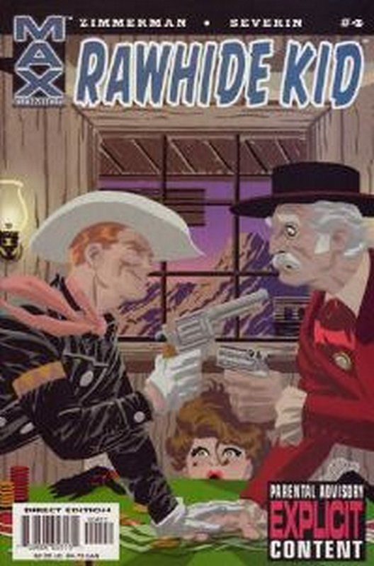 Cover of Rawhide Kid (2003 Ltd) #4. One of 250,000 Vintage American Comics on sale from Krypton!