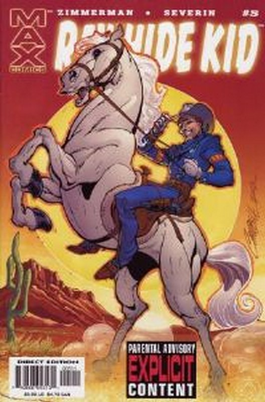 Cover of Rawhide Kid (2003 Ltd) #5. One of 250,000 Vintage American Comics on sale from Krypton!