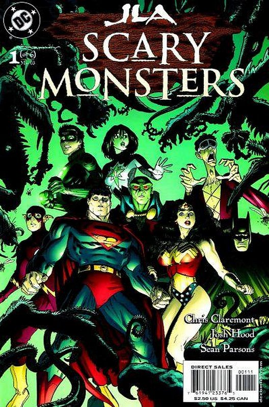 Cover of JLA: Scary Monsters (2003 Ltd) #1. One of 250,000 Vintage American Comics on sale from Krypton!
