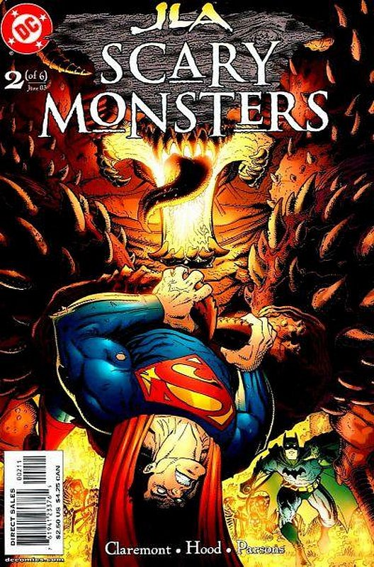 Cover of JLA: Scary Monsters (2003 Ltd) #2. One of 250,000 Vintage American Comics on sale from Krypton!
