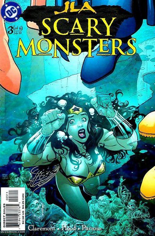 Cover of JLA: Scary Monsters (2003 Ltd) #3. One of 250,000 Vintage American Comics on sale from Krypton!