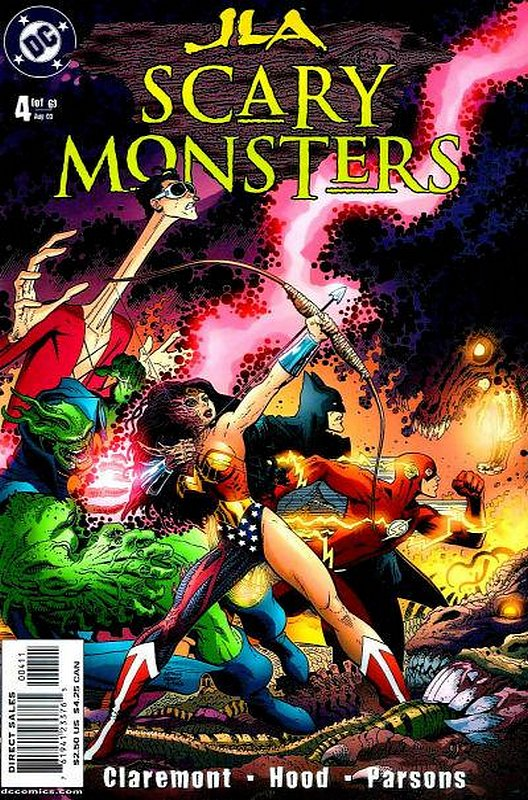 Cover of JLA: Scary Monsters (2003 Ltd) #4. One of 250,000 Vintage American Comics on sale from Krypton!
