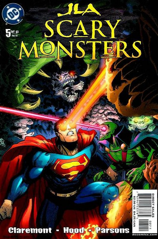 Cover of JLA: Scary Monsters (2003 Ltd) #5. One of 250,000 Vintage American Comics on sale from Krypton!