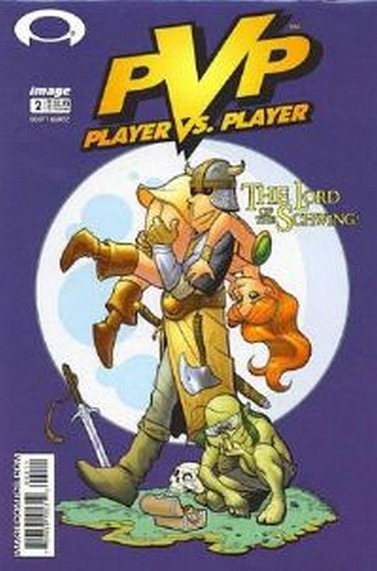 Cover of PVP: Player vs Player #2. One of 250,000 Vintage American Comics on sale from Krypton!