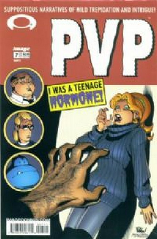 Cover of PVP: Player vs Player #7. One of 250,000 Vintage American Comics on sale from Krypton!