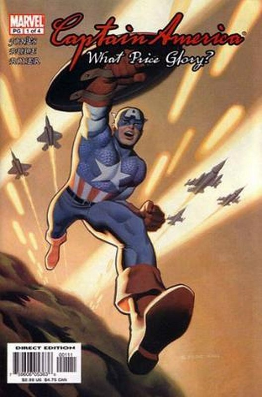 Cover of Captain America: What Price Glory (2003 Ltd) #1. One of 250,000 Vintage American Comics on sale from Krypton!