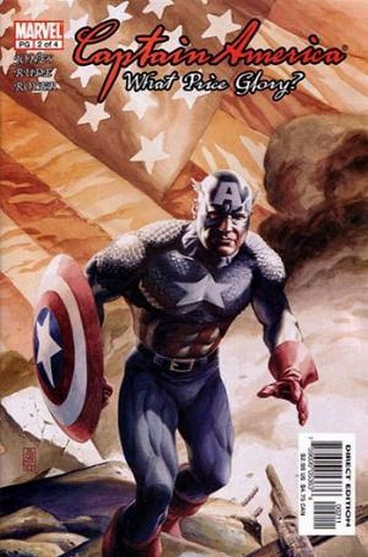 Cover of Captain America: What Price Glory (2003 Ltd) #2. One of 250,000 Vintage American Comics on sale from Krypton!