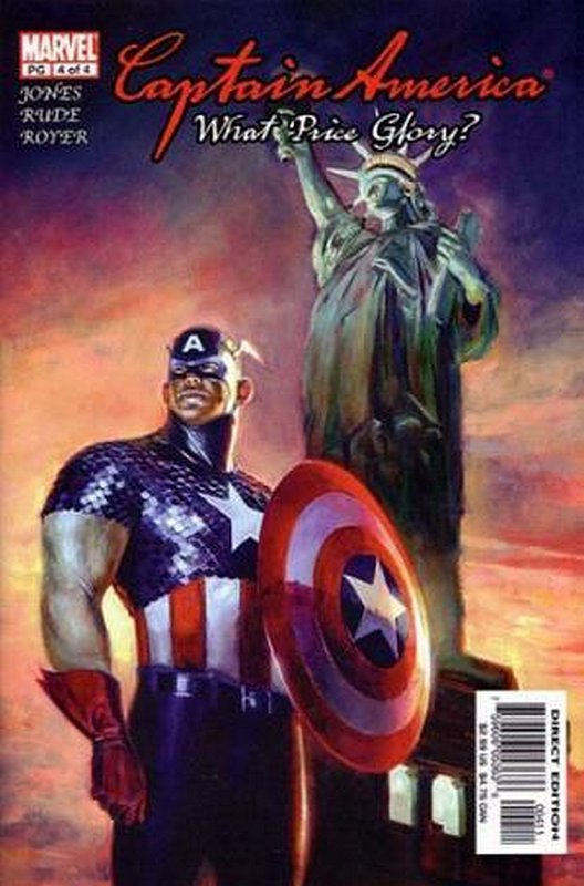 Cover of Captain America: What Price Glory (2003 Ltd) #4. One of 250,000 Vintage American Comics on sale from Krypton!