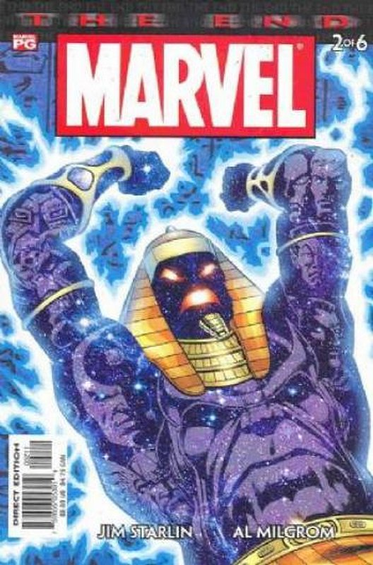Cover of Marvel: The End (2003 Ltd) #2. One of 250,000 Vintage American Comics on sale from Krypton!