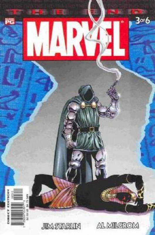 Cover of Marvel: The End (2003 Ltd) #3. One of 250,000 Vintage American Comics on sale from Krypton!