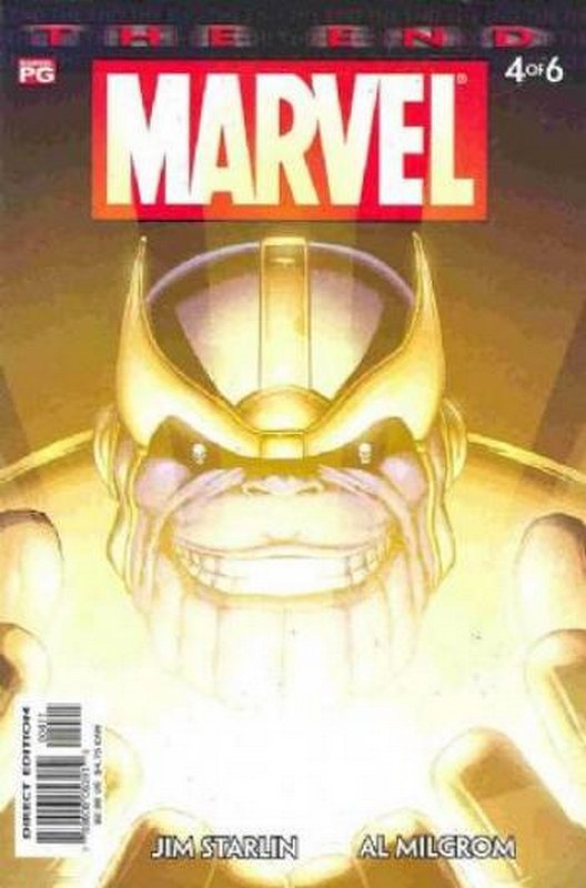 Cover of Marvel: The End (2003 Ltd) #4. One of 250,000 Vintage American Comics on sale from Krypton!