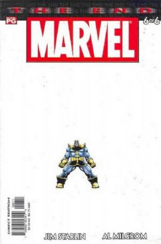 Cover of Marvel: The End (2003 Ltd) #6. One of 250,000 Vintage American Comics on sale from Krypton!