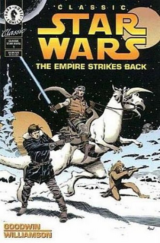 Cover of Classic Star Wars: Empire Strikes Back (1994 Ltd) #1. One of 250,000 Vintage American Comics on sale from Krypton!