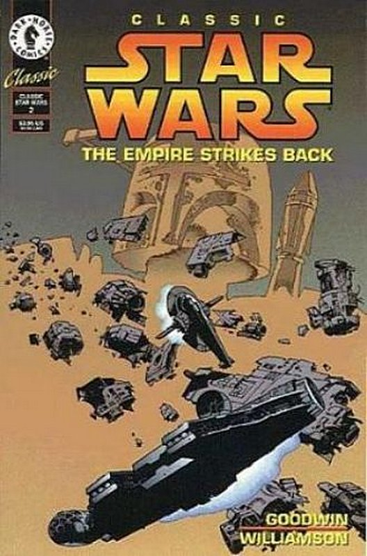 Cover of Classic Star Wars: Empire Strikes Back (1994 Ltd) #2. One of 250,000 Vintage American Comics on sale from Krypton!