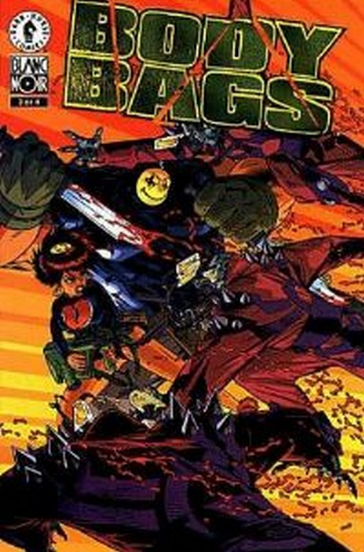 Cover of Body Bags (1996 Ltd) #3. One of 250,000 Vintage American Comics on sale from Krypton!