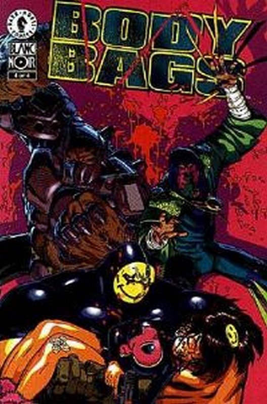 Cover of Body Bags (1996 Ltd) #4. One of 250,000 Vintage American Comics on sale from Krypton!
