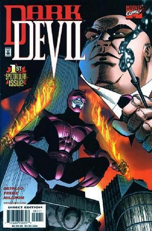 Cover of Darkdevil (2000 Ltd) #1. One of 250,000 Vintage American Comics on sale from Krypton!