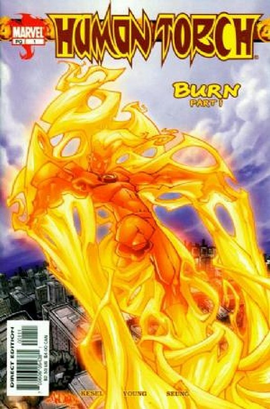 Cover of Human Torch (Vol 2) #1. One of 250,000 Vintage American Comics on sale from Krypton!