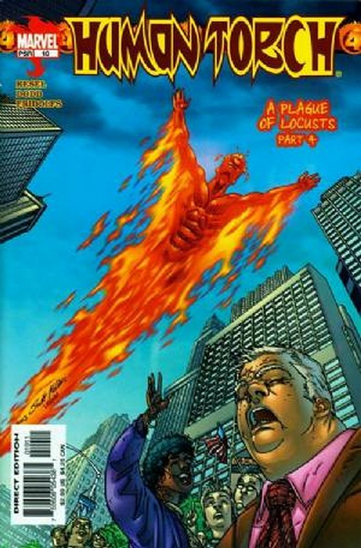 Cover of Human Torch (Vol 2) #10. One of 250,000 Vintage American Comics on sale from Krypton!