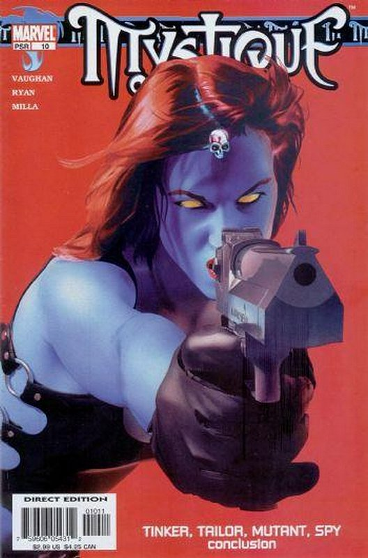 Cover of Mystique (Vol 1) #10. One of 250,000 Vintage American Comics on sale from Krypton!