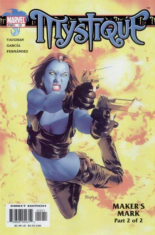 Cover of Mystique (Vol 1) #12. One of 250,000 Vintage American Comics on sale from Krypton!