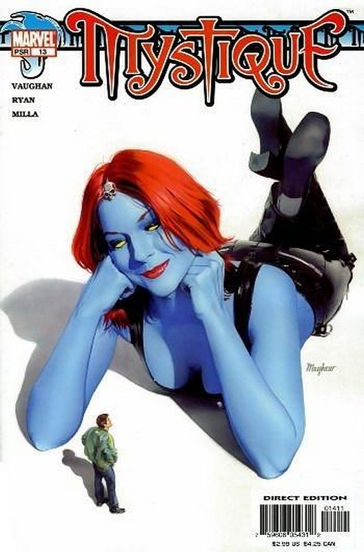 Cover of Mystique (Vol 1) #13. One of 250,000 Vintage American Comics on sale from Krypton!