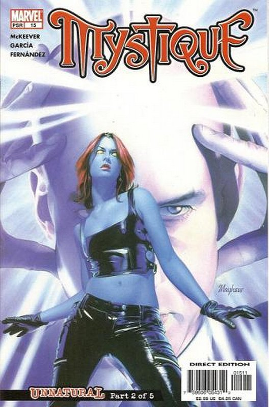 Cover of Mystique (Vol 1) #15. One of 250,000 Vintage American Comics on sale from Krypton!