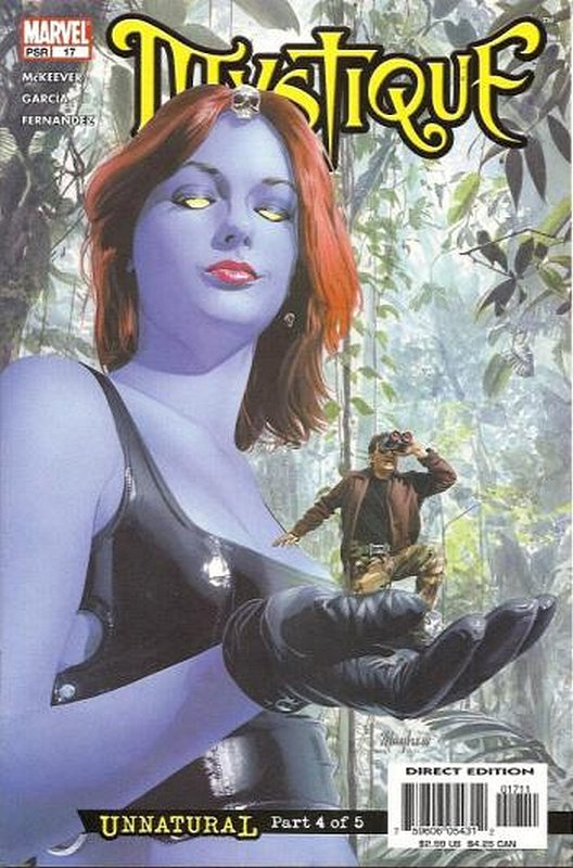 Cover of Mystique (Vol 1) #17. One of 250,000 Vintage American Comics on sale from Krypton!