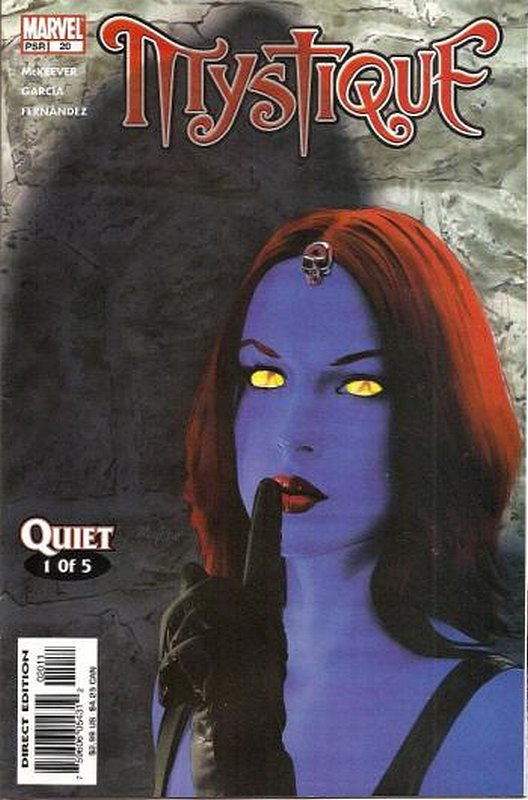 Cover of Mystique (Vol 1) #20. One of 250,000 Vintage American Comics on sale from Krypton!