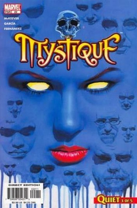 Cover of Mystique (Vol 1) #22. One of 250,000 Vintage American Comics on sale from Krypton!